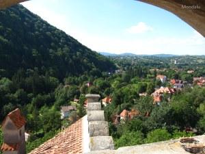 La Transylvanie vue du château de Bran